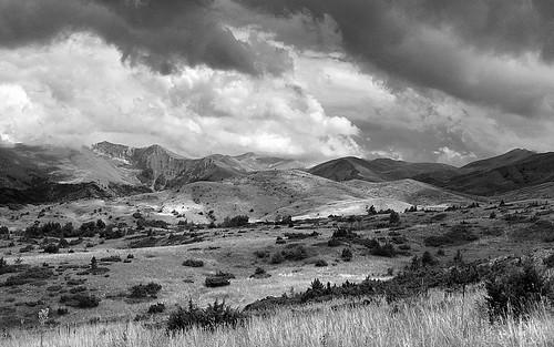 bw mountains nature d50 landscape outdoor hiking macedonia 2008 jakupica makedonie