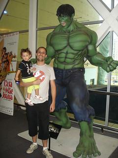 The Incredible Hulk Statue Rio de Janeiro