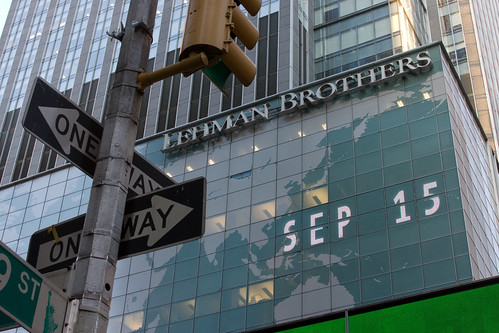 Stop Light for Lehman Brothers: September 15, The Day it Became Clear
