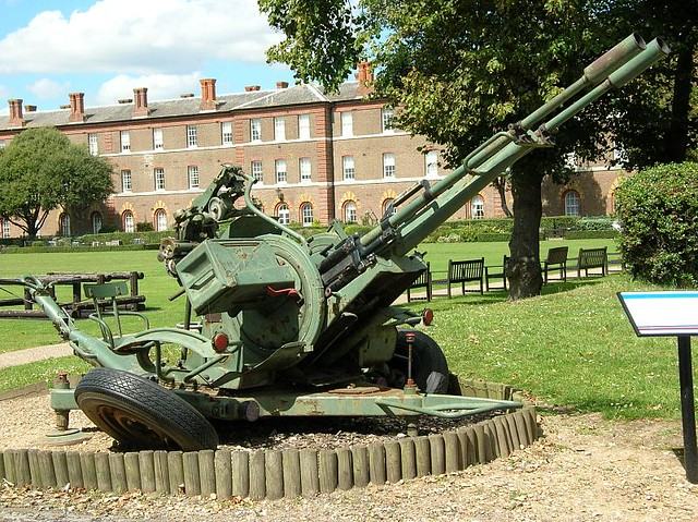 zu 23 2 Anti Aircraft Cannon zu 23 Light Anti Aircraft