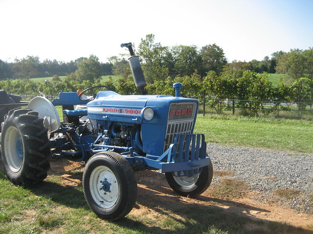Really Cool Old Ford Tractor Flickr Photo Sharing