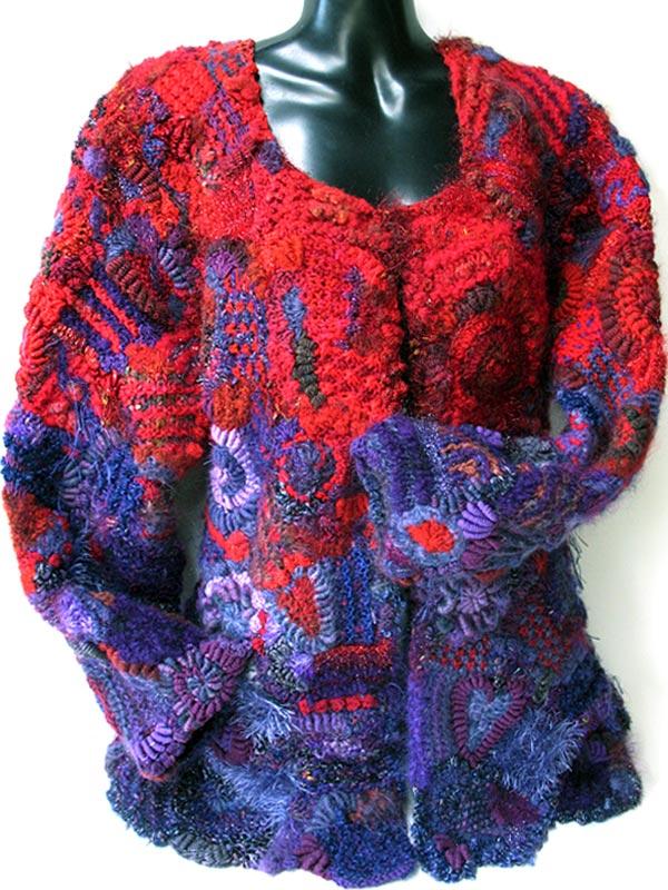 Freeform jacket by Prudence Mapstone - a photo on Flickriver