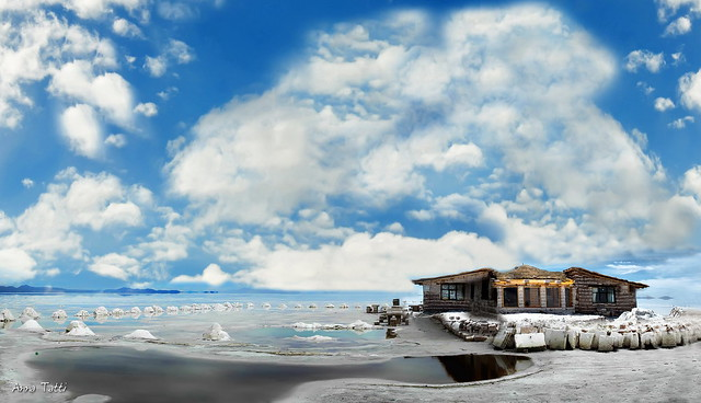 L'hotel di sale