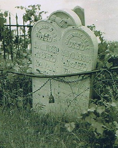 Coonrod (Conrad) and Catherine Best at the Best Cemetery in Bayham Twp.
