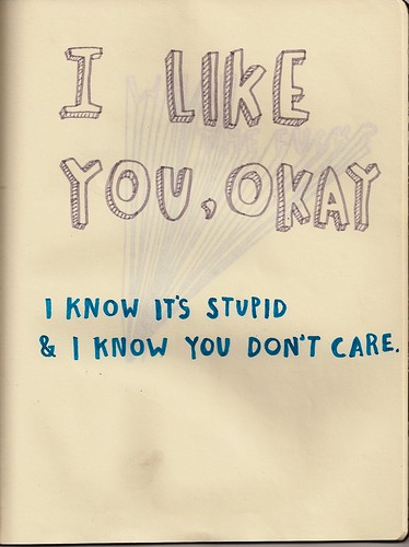 i like you, okay