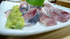 20080227 東京玩第五天 091 勝鬨ひろ藤 沙丁魚生魚片