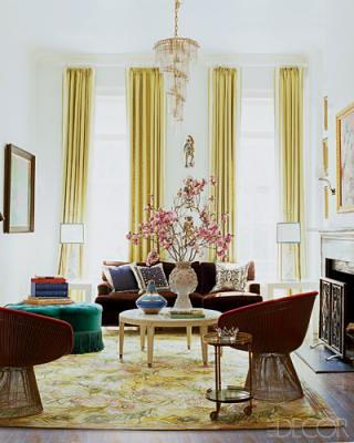 April 3 2010 Decorating Ideas Nanette Lepore 39 S Living Room ...