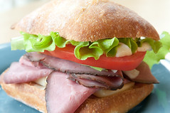 blt, sandwich, ham and cheese sandwich, ciabatta, meat, bã¡nh mã¬, food, dish, cuisine, roast beef,