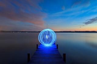 Lightsphere @ Starnberger See