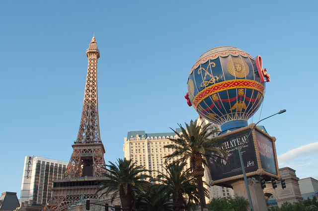 Paris Las Vegas Paris Las Vegas Has Elements Of One Of