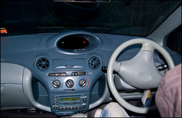 TOYOTA Vitz rental car