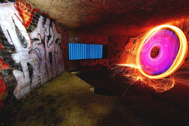 Day 246 (172) - Spray paint vs. Light paint