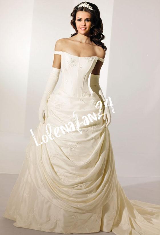 Selena Gomez Wedding Dress