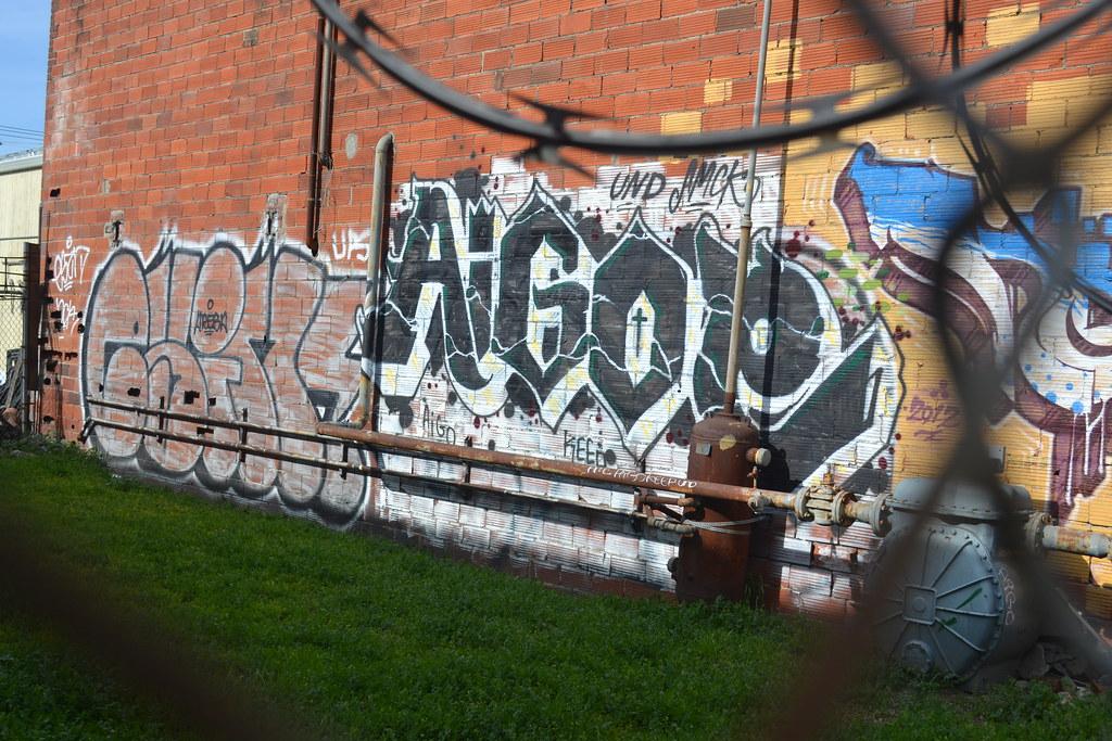 AIGOE, Graffiti, Street Art, Oakland, UND,