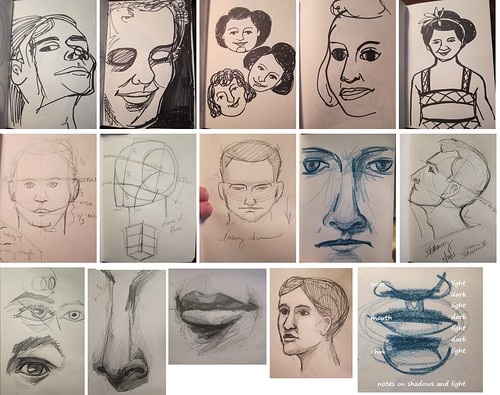 More week one sketchbook
