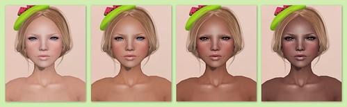 Fresh Face's Belle skin