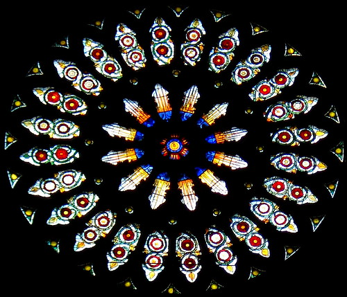 Rose Window in York Minster