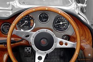 Vintage sportscar cockpit Lecarra (c) 2004 Bernhard Egger :: ru-moto images | pure passion