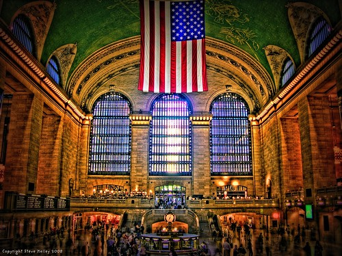nyc newyorkcity railroad usa ny newyork train geotagged nikon unitedstates manhattan flag central americanflag grand terminal midtown american mia mta kia grandcentral widows hdr memorialday metronorth gct grandcentralterminal missinginaction wardead coolpix8700 metronorthrailroad hudsonline mudpig harlemline stevekelley enmemoriam connecticutline
