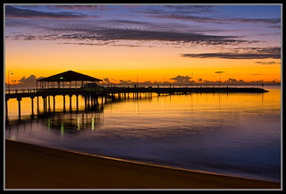 30 Minutes to Sunrise Redcliffe Jetty-1+