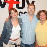 Steve Earle at WFUV with Claudia Marshall and Rita Houston