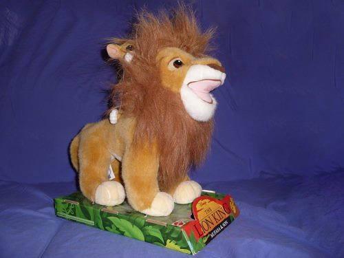 Lion King - Mufasa and Son plush by Mattel   Flickr ...