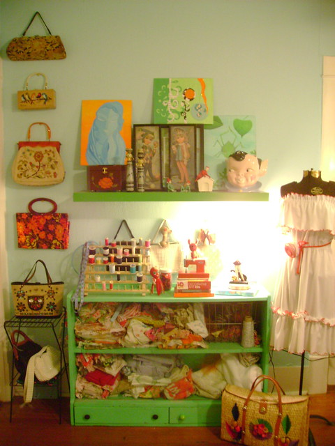 vintage purse collection…