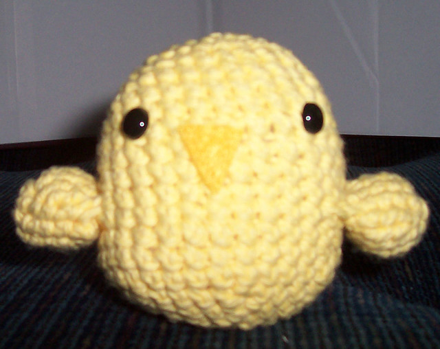 Amigurumi Tweety Bird : Tweety Bird My newest amigurumi - Tweety Bird. This was ...