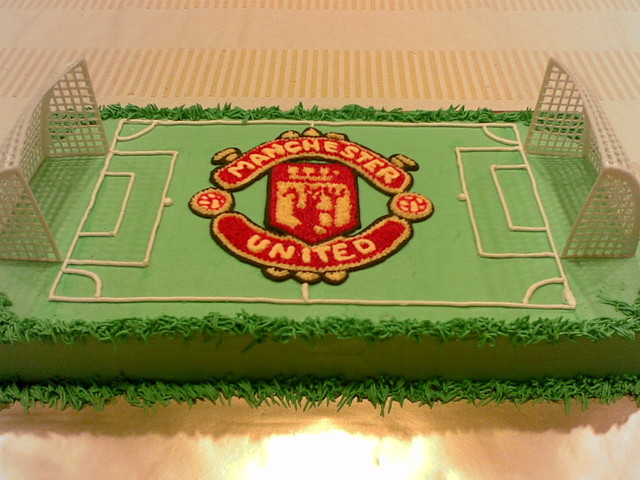 Manchester United Bday Cake Flickr Photo Sharing
