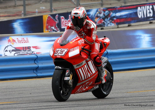 MotoGP 2008 @ Laguna Seca, USA