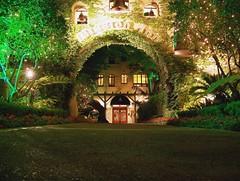 Riverside, CA - Mission Inn at night