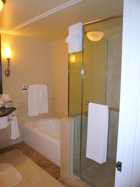shower and tub in san jose fairmont hotel flickr photo