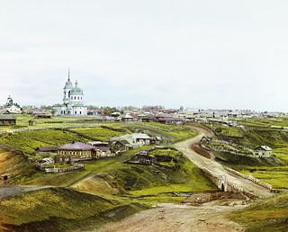 Sergei Prokudin-Gorskii: Village of Kolchedan, 1912