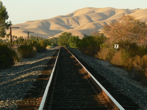 Train Tracks to San Miguel, California