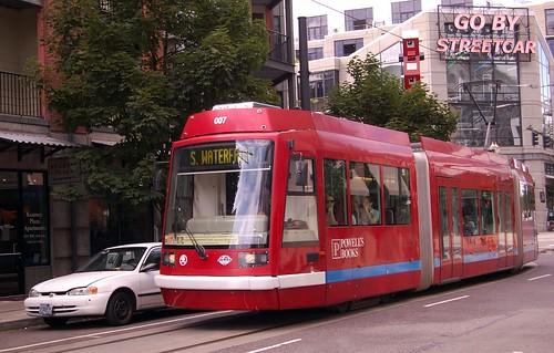 Go by Streetcar (Portland, Oregon)