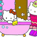 hello kitty bath