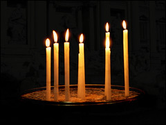 candle, light, candle holder, darkness, flame, lighting,