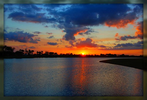 sunset nature colors florida portstlucie nikond80