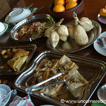 Huge Breakfast at Guest House - Toungoo, Burma