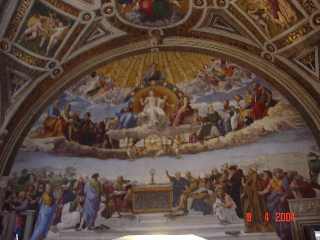 raphael u0026 39 s the disputation on the holy sacrament  sistine