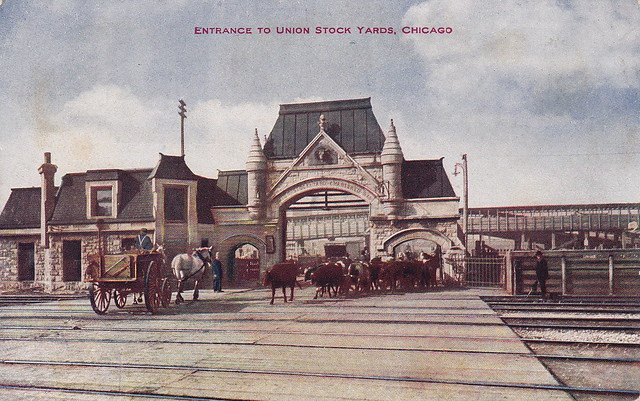 Chicago Stock Yards Gate