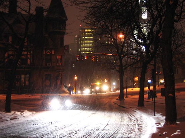 Snow Feb. 3, 2009