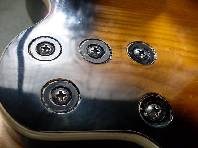 Photo:Neck Screws By Roadside Guitars