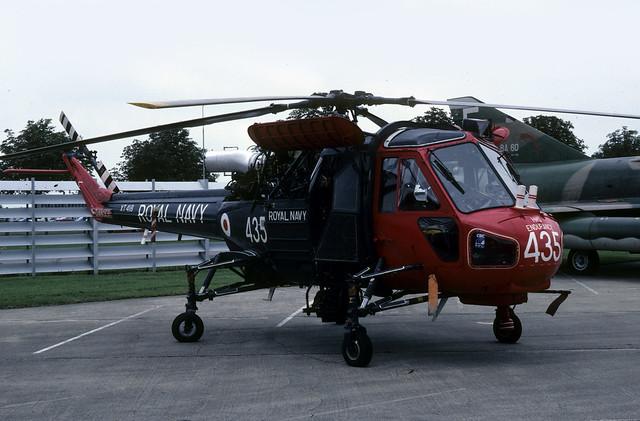 Westland Wasp Royal Navy XT418 NAS Yeovilton