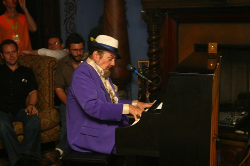 Dr. John performs a solo set in the Foundation Room (Photo by Jef Jaisun)