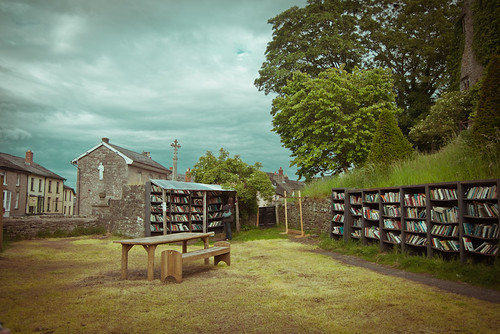 The Honesty Bookshop, Hay-on-Wye by never meant to see