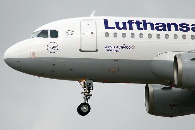 Lufthansa Airbus A319-114 D-AILP Tübingen (2037)