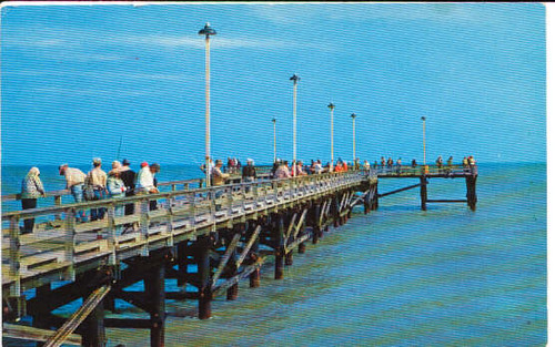 corpus christi padre island fishing pier flickr photo