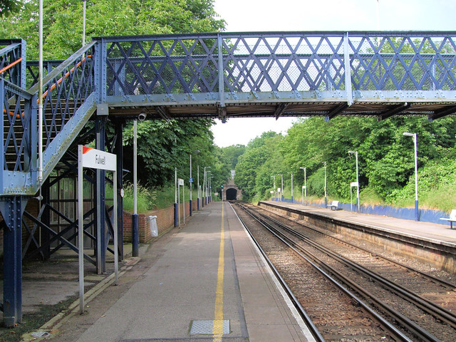 Fulwell Station London Fulwell Railway Station On The S Flickr Photo Sharing