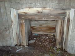 Gun position wooden box
